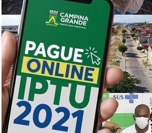 Prefeitura de Campina Grande prorroga para final de abril prazo para pagamento do IPTU com desconto