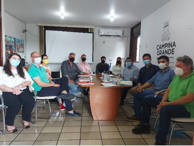 Prefeitura recebe representantes da construção civil e projeta acelerar trâmites de processos em Campina Grande