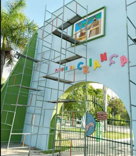 Parceria público/privada viabiliza revitalização do Parque da Criança.