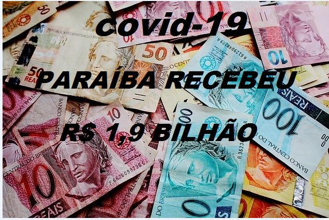 Combate à pandemia: Paraíba recebeu do governo Bolsonaro R$ 1,9 bilhão, mas só investiu R$ 988,6 milhões, afirma TCE-PB.
