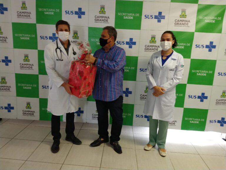 Hospital Pedro I recebe doação de equipamentos que auxiliam no tratamento da Cocid-19