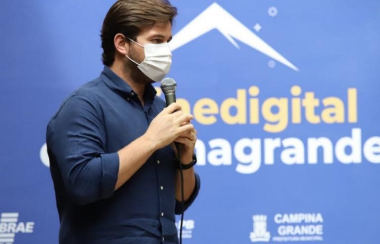 Prefeito de Campina Grande lança plataforma on-line que deve impulsionar a economia em tempos de pandemia.
