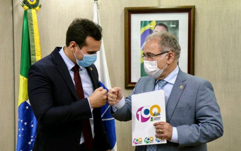 Vice-prefeito de Campina Grande é recebido pelo ministro da Saúde e reivindica recursos para a cidade