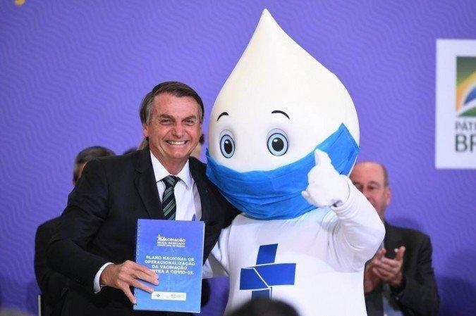 Governo Bolsonaro distribui mais um lote com 5,7 milhões de doses de vacinas contra Covid-19.