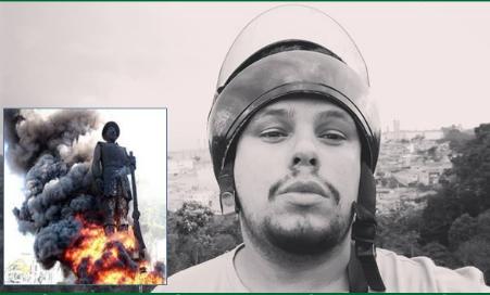 Justiça decreta prisão temporária do incendiário da estátua do bandeirante Borba Gato.