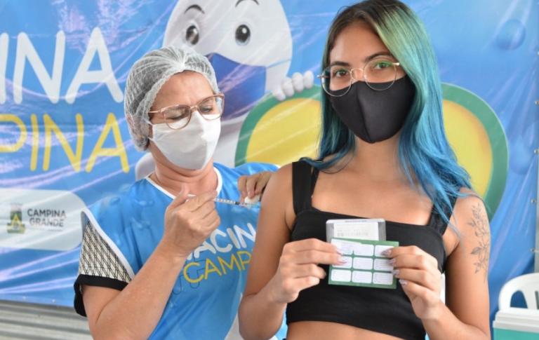 Prefeitura de Campina Grande segue imunizando pessoas a partir de 33 anos nesta quinta-feira