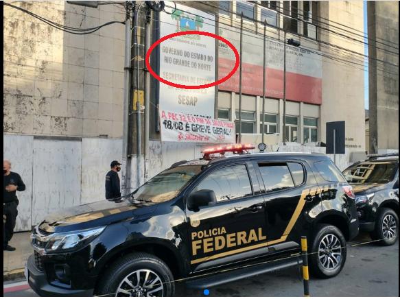 Policia Federal faz operação de combate ao roubo de dinheiro da saúde no governo da petista Fátima Bezerra.