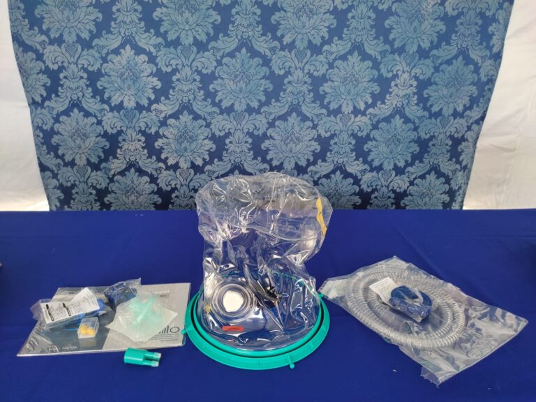 Prefeitura recebe capacetes respiratórios que auxiliam tratamento da covid-19